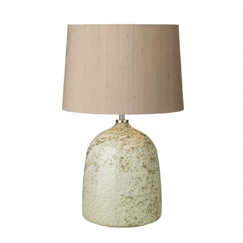 Alte Table Lamp Volcanic White Base Only (Hand made, 7-10 day Delivery)